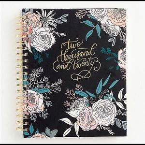 NEW PAPER SOURCE FLORAL JOURNAL/PLANNER 2020